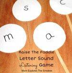 Letter Sound Listening Game