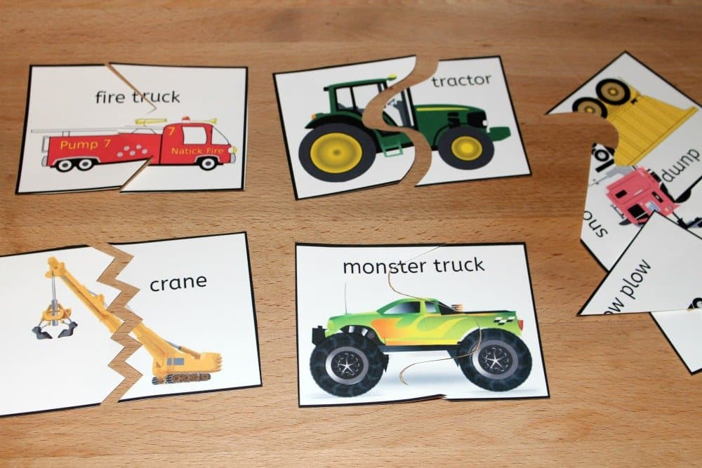 Free Printable Truck Puzzles, Mom Explores The Smokies