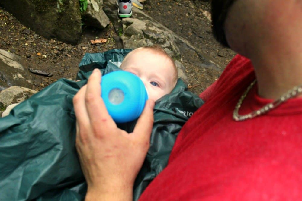 Kid Friendly Smokies, Rainbow Falls, Mom Explores The Smokies 2