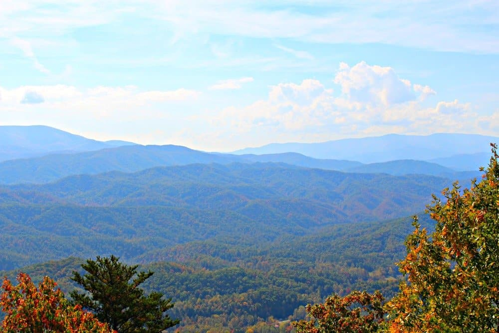 Look Rock Observation Tower & Hiking Tail, Mom Explores The Smokies