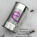 Letters & Numbers Snowball Toss