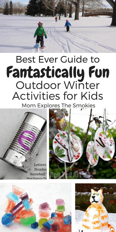 Winter Activities For Preschoolers Kids Mom Explores The Smokies