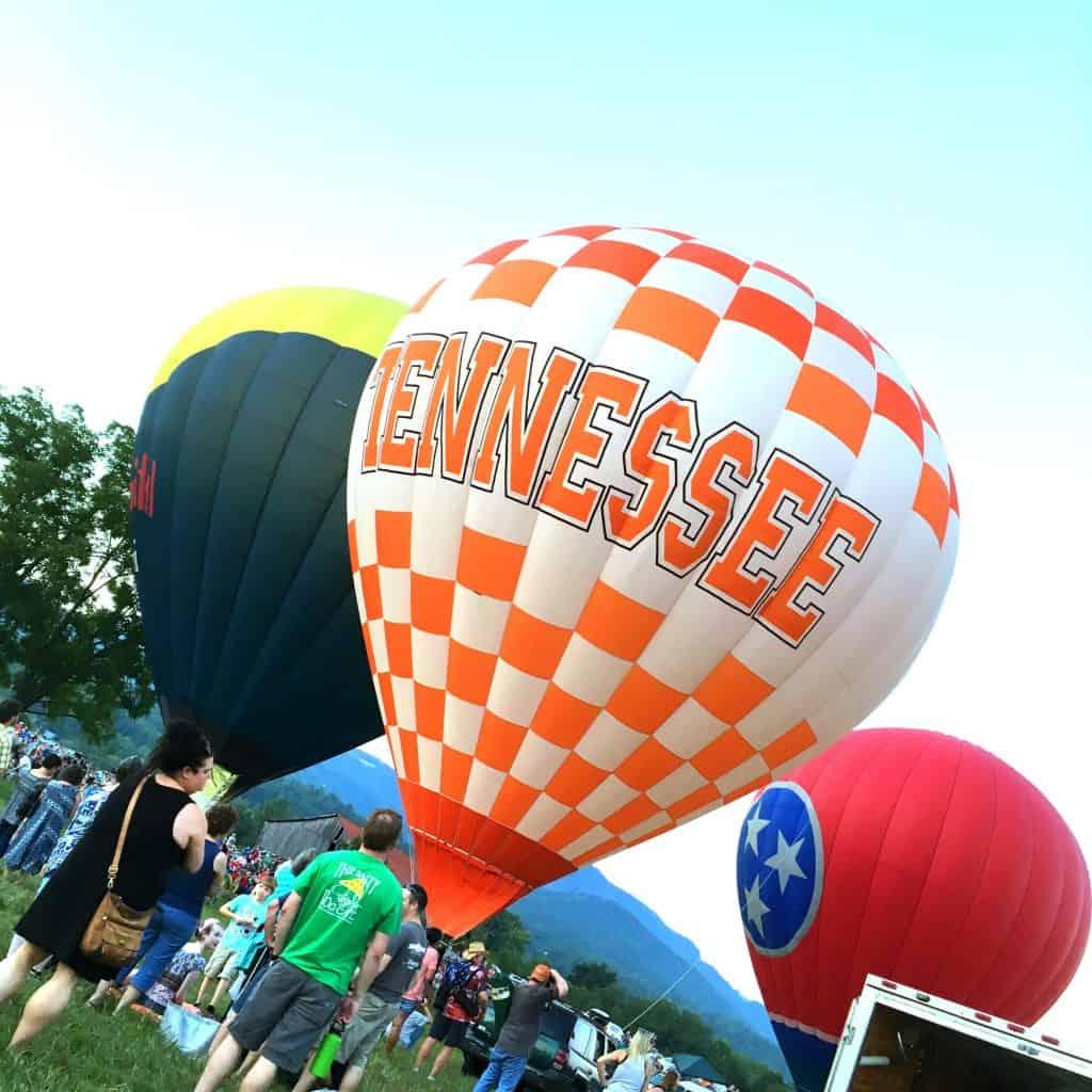 Smoky Mountain Balloon Festival Townsend Tennessee, Mom Explores the Smokies