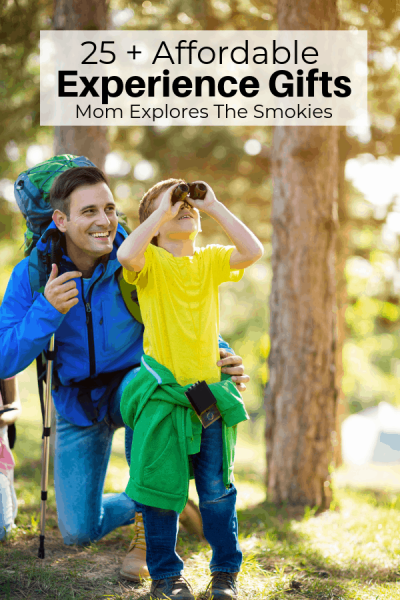 Affordable Experience Gifts for Men, Mom Explores The Smokies