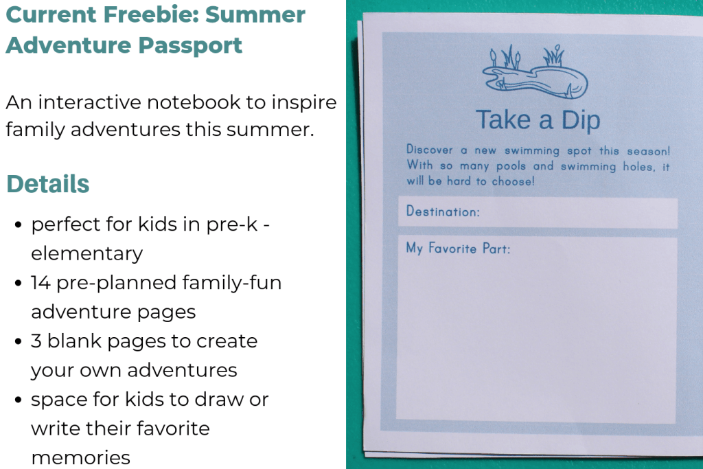 Summer Adventure Passport