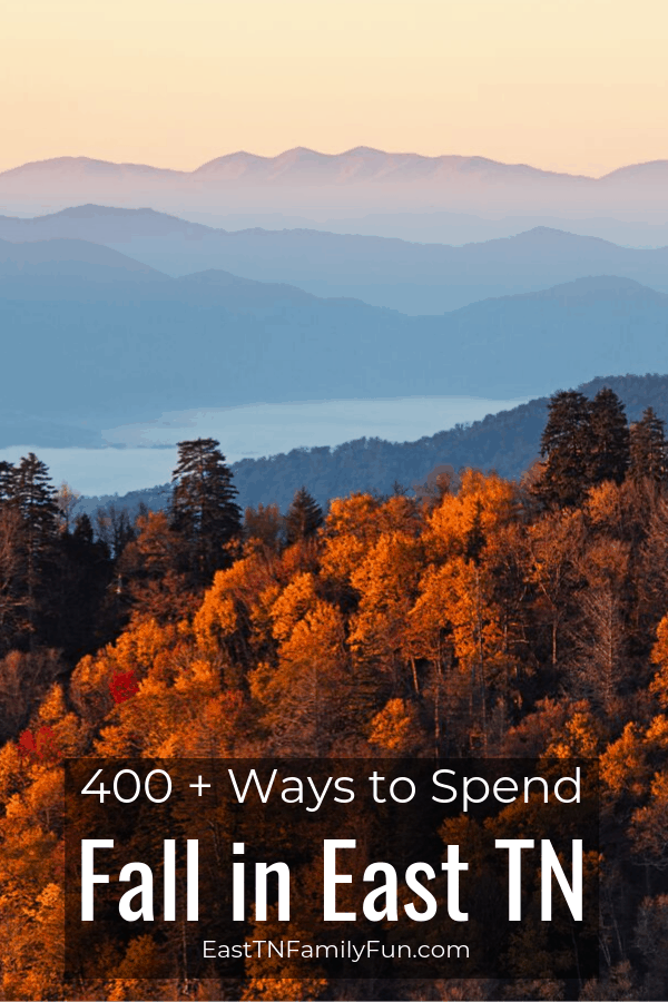 400 + Amazing Fall Activities in East TN