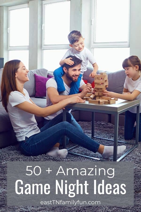 50 + Fun Family Games For Game Night