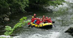 whitewater rafting locations in Cherokee National Forest, TN