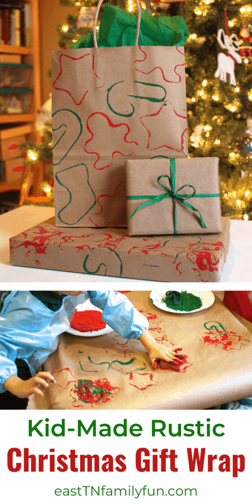 DIY Christmas Gift Wrap, Christmas Paper Crafts: Easy