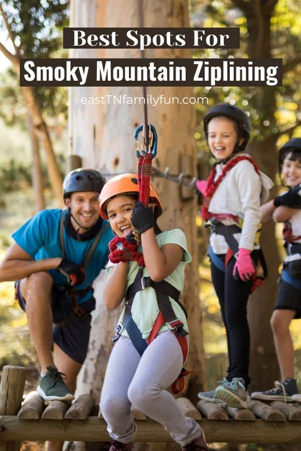 Kid-Friendly Smoky Mountain Ziplines Your Whole Family Will Love