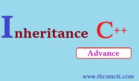 Inheritance program in c++