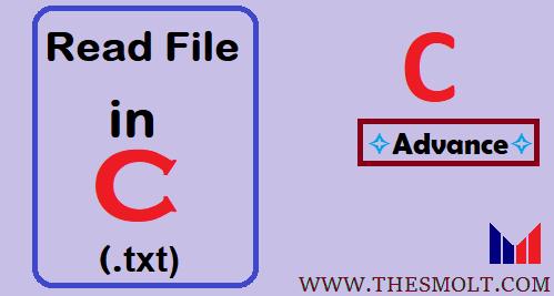 Read file in C