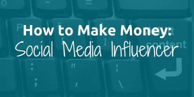 post about making money as a social media influencer