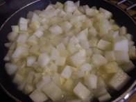 Stewing prior to freezing