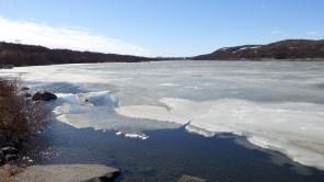 Frozen lake - Kirkenes