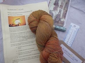 Newsletter, yarn and goodies
