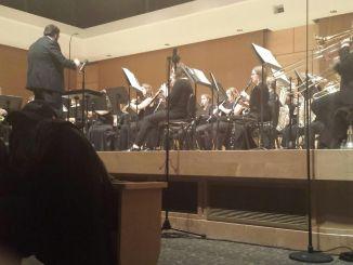 Richard Ferrarelli was one of the student conductors. (Dan Zalewski/Snapper)