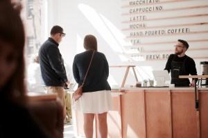 Passenger Coffee recently opened near Central Market. (Rachel Adshead/Snapper)
