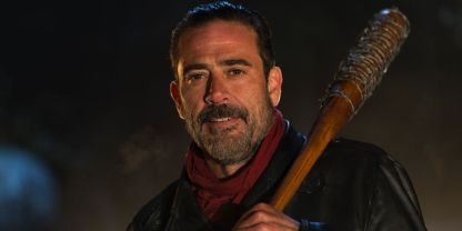 Negan makes survivors helpless servants. (Photo courtesy of screenrant.com)