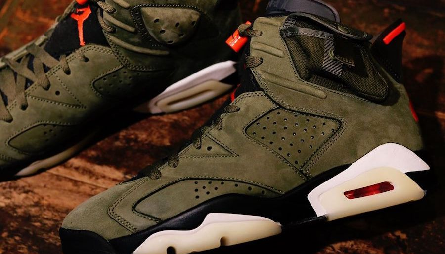 #Raffle : Comment cop la Travis Scott x Air Jordan 6 Medium Olive ?