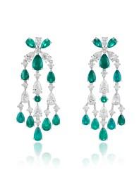 Red Carpet chandelier earrings 849935-1001