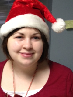 Photo of Lauren Gibilsco at Christmas
