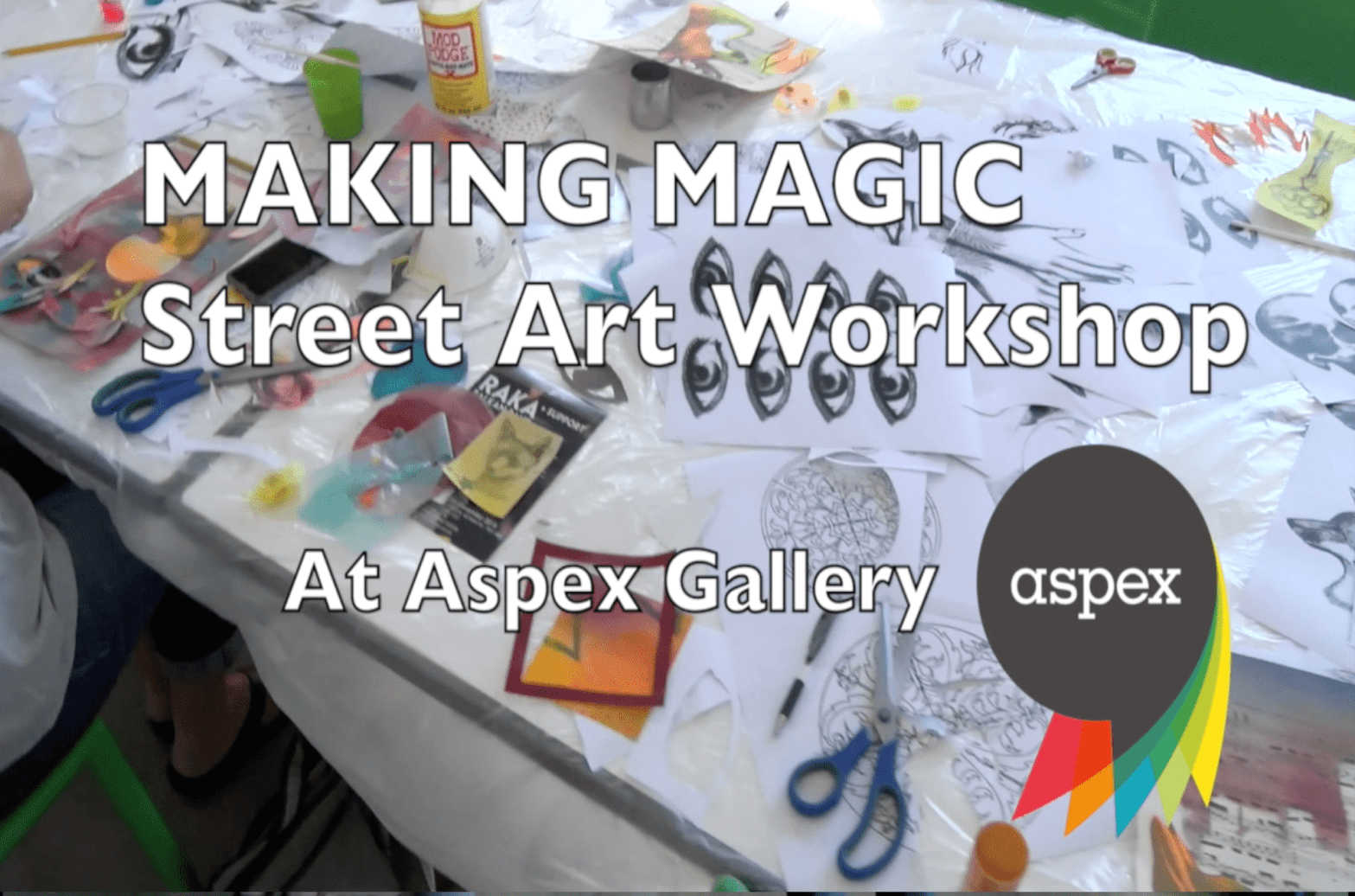 Making Magic Street Art Workshop BLOG THUMBNAIL