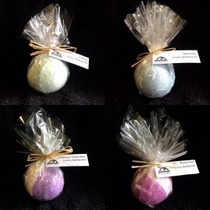 Bathbombs, all wrapped up