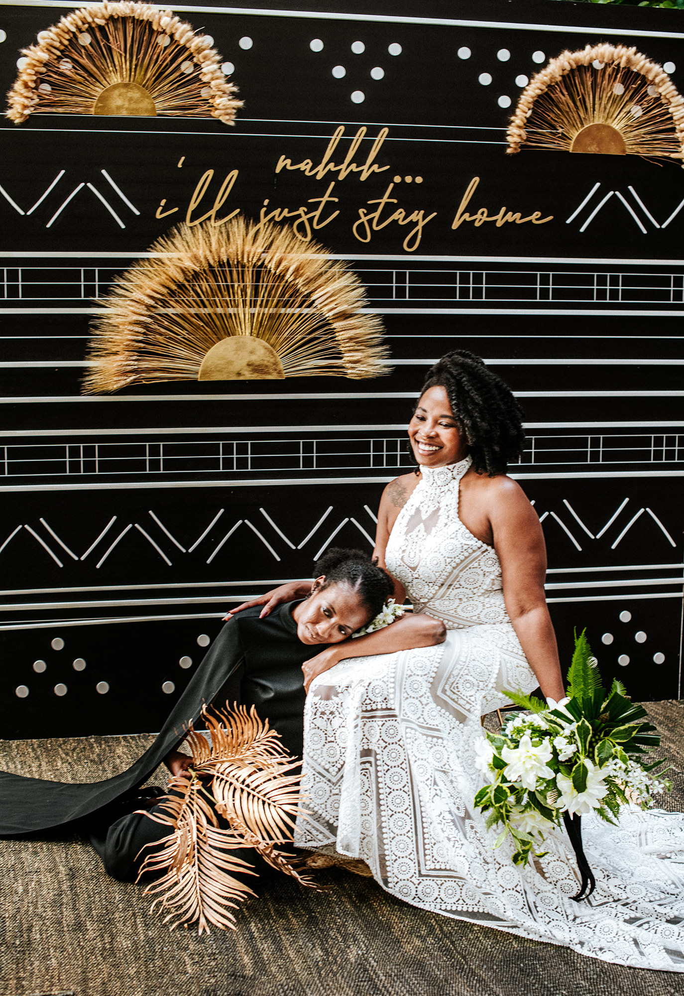 Black LGBTQ wedding in San Diego