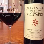 Soccer Mom Sommelier: Alexander Valley Vineyards 2012 Cabernet Sauvignon