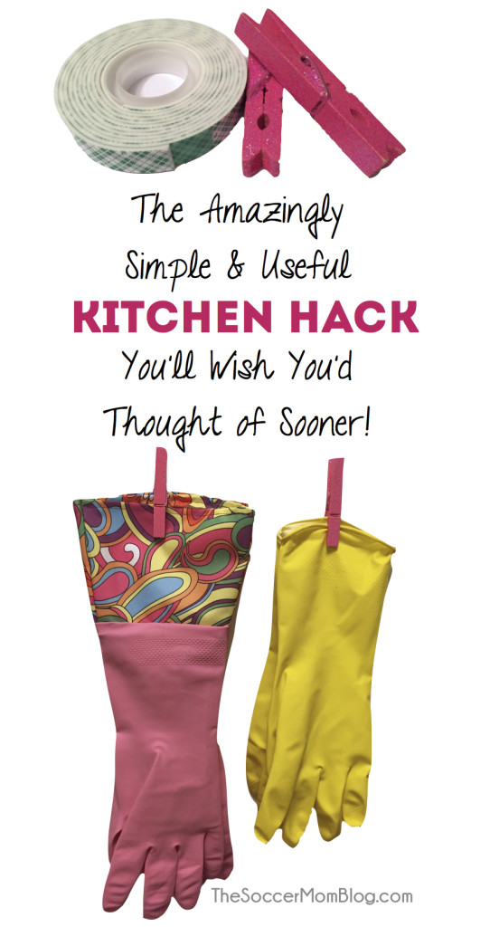 This super-simple kitchen hack eliminated one of my biggest pet peeves! Easy DIY photo tutorial