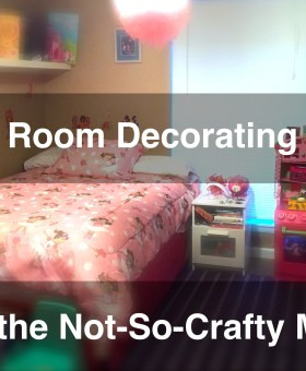 Kid's Room Decorating Ideas for the (Not So) Crafty Mom