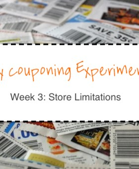 My Couponing Experiment: Week 3