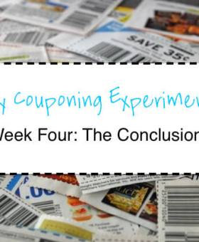 My Couponing Experiment: The Conclusion