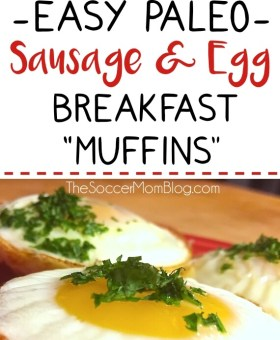 Easy Paleo Sausage Egg Breakfast Muffins Recipe