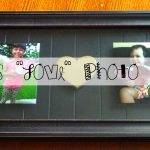 "Crafting with Kids: DIY ""Love"" Photo Gift"
