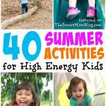 40+ Summer Kids Activities to Get the Whole Family Moving