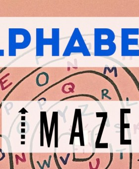 Make Learning Letters Fun with Alphabet Mazes