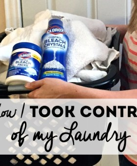 How I Took Control of my Laundry