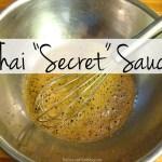 "Pan-Seared Salmon with Thai ""Secret"" Sauce + 5 Thai Food Favorites"