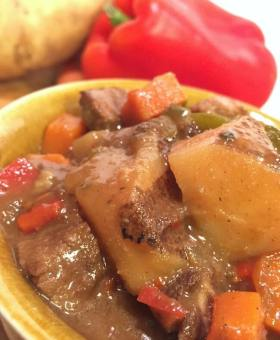 Hearty Carne Guisada (Mexican Beef Stew)