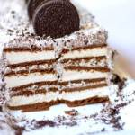 "A super-easy dairy free ice cream cake recipe that might just be even better than the ""real"" thing! PLUS 21 of our favorite dairy free dessert recipes so you'll never feel deprived!"