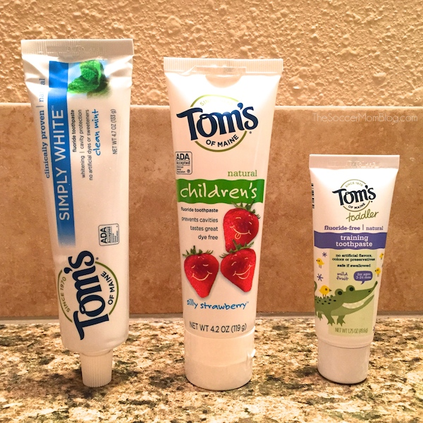 Three simple tips to make brushing teeth fun. Your kids won't just cooperate, they will LOVE to brush their teeth! #NaturalGoodness ad