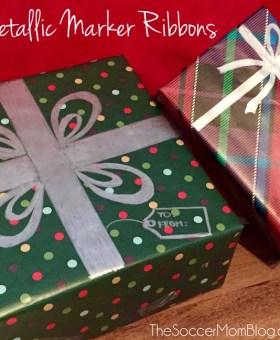 Easy Christmas Gift Wrapping