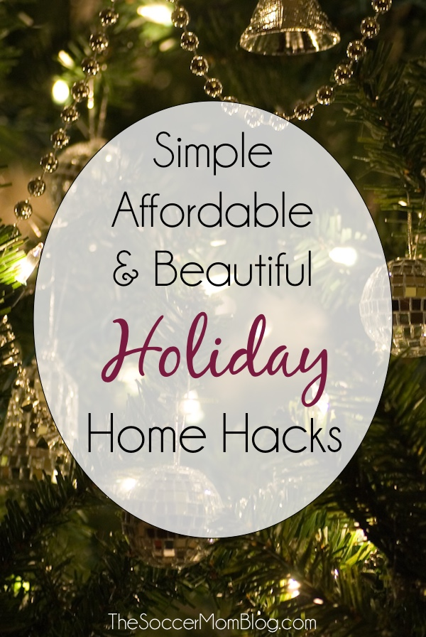 It's easier (and more affordable) than you think to get your home ready for the holidays! Here are some of my holiday and winter must-haves!