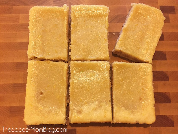 "Celebrate the Minions movie Blu-Ray/DVD release at Target with this delicious ""Lem-minions"" Gluten Free Lemon Bars recipe the whole family will love!"
