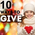 10 Ways Give Back During the Holidays
