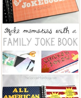 Cheesy Family Joke Book for National Cheese Lover's Day