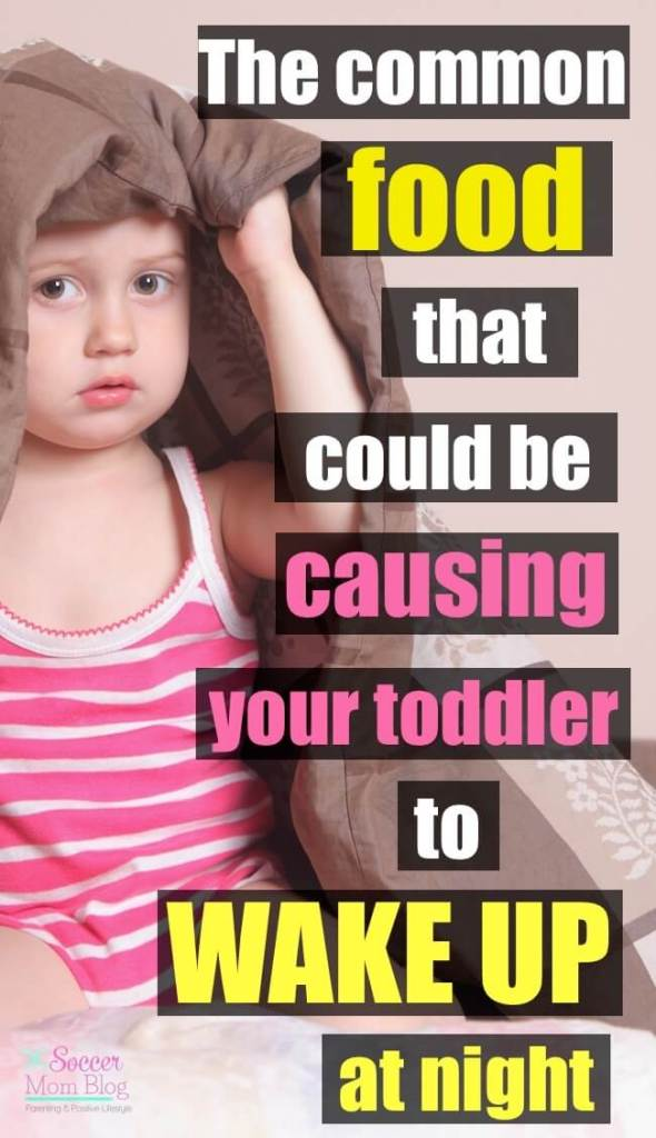 It took us over a year to figure this out!! Our toddler's diet was causing her sleep problems, and we had no idea! If you're stuck in the cycle of sleepless nights like we were, you'll want to check to see if you missed this too!