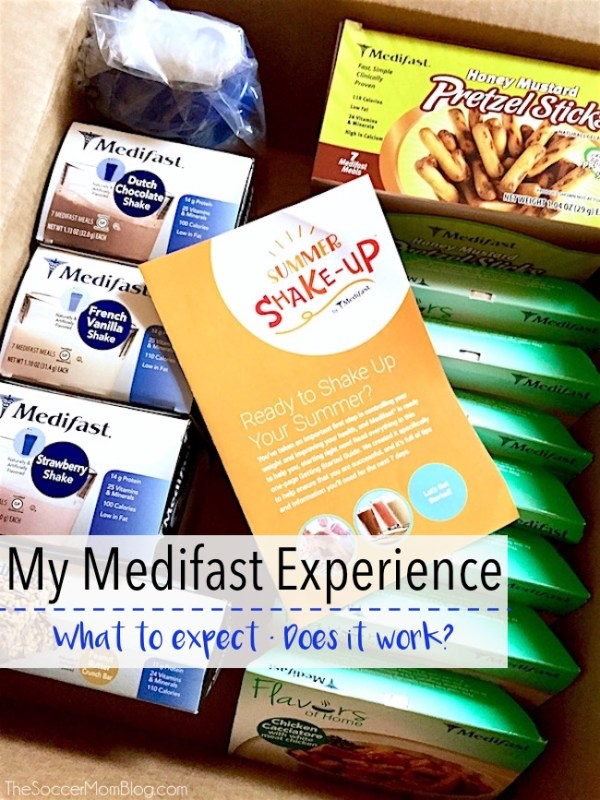 My Medifast Experience and personal results after completing the 7-day Summer Shake-Up Kit - weight loss, meal plan, diet